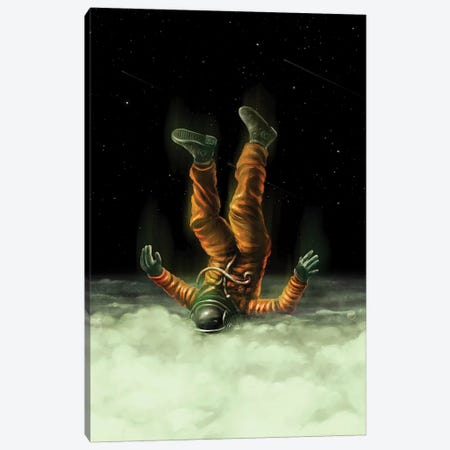 Shallow Clouds Canvas Print #NID380} by Nicebleed Canvas Artwork