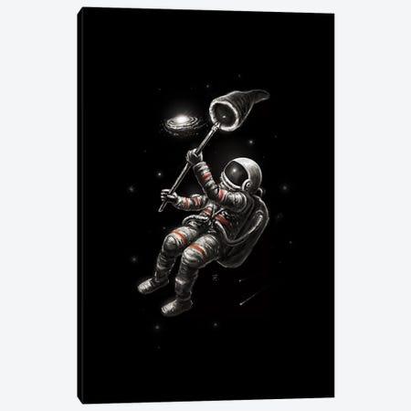Catching A Galaxy Canvas Print #NID381} by Nicebleed Canvas Artwork