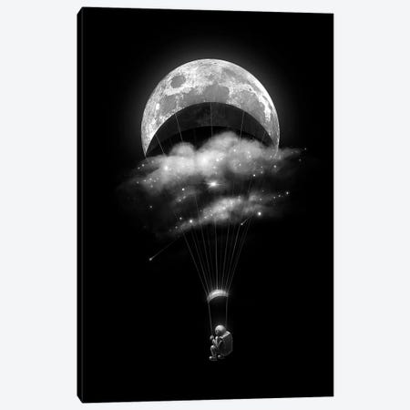 Crescent Ride Canvas Print #NID382} by Nicebleed Canvas Artwork