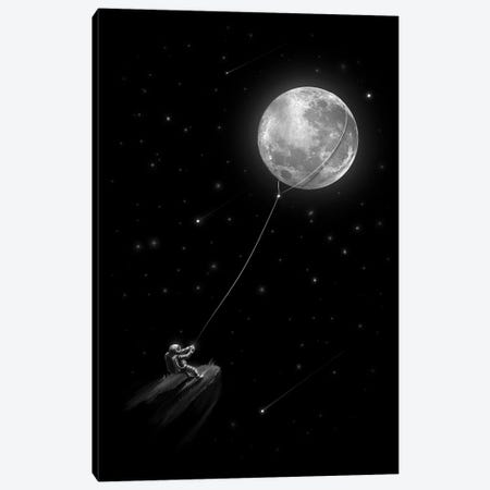 Pull Moon Canvas Print #NID384} by Nicebleed Canvas Print