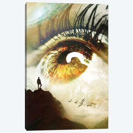 Vision 3-Piece Canvas #NID386} by Nicebleed Canvas Print