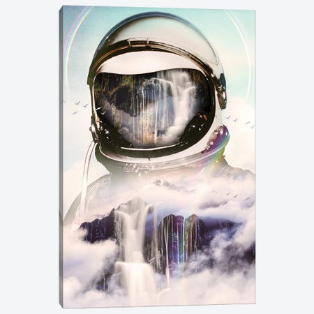 The Spectator Canvas Print #NID388} by Nicebleed Canvas Artwork
