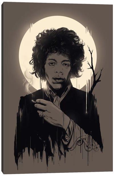 Jimi Hendrix II Canvas Print #NID38