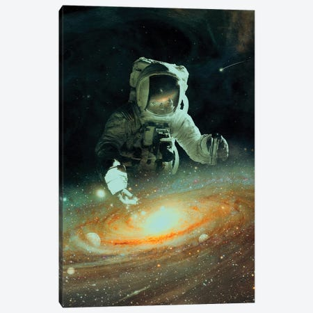 Feeding The Abyss Canvas Print #NID392} by Nicebleed Canvas Art Print