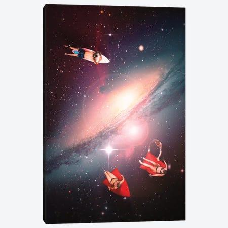 Galactic Chill Canvas Print #NID400} by Nicebleed Art Print