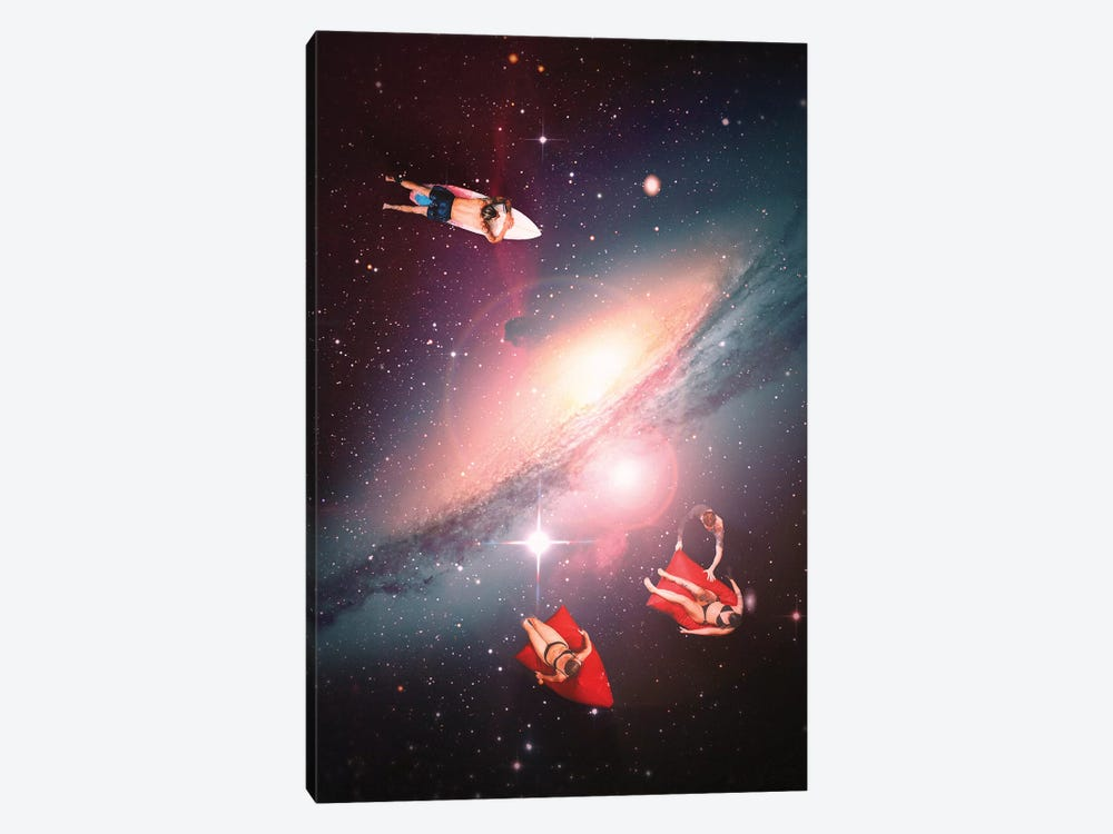 Galactic Chill by Nicebleed 1-piece Canvas Print