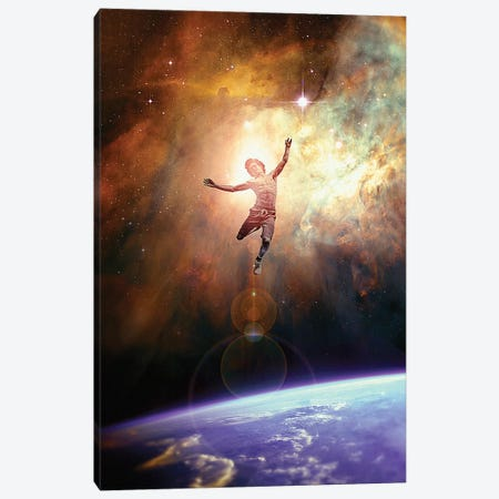Leap Canvas Print #NID401} by Nicebleed Canvas Print