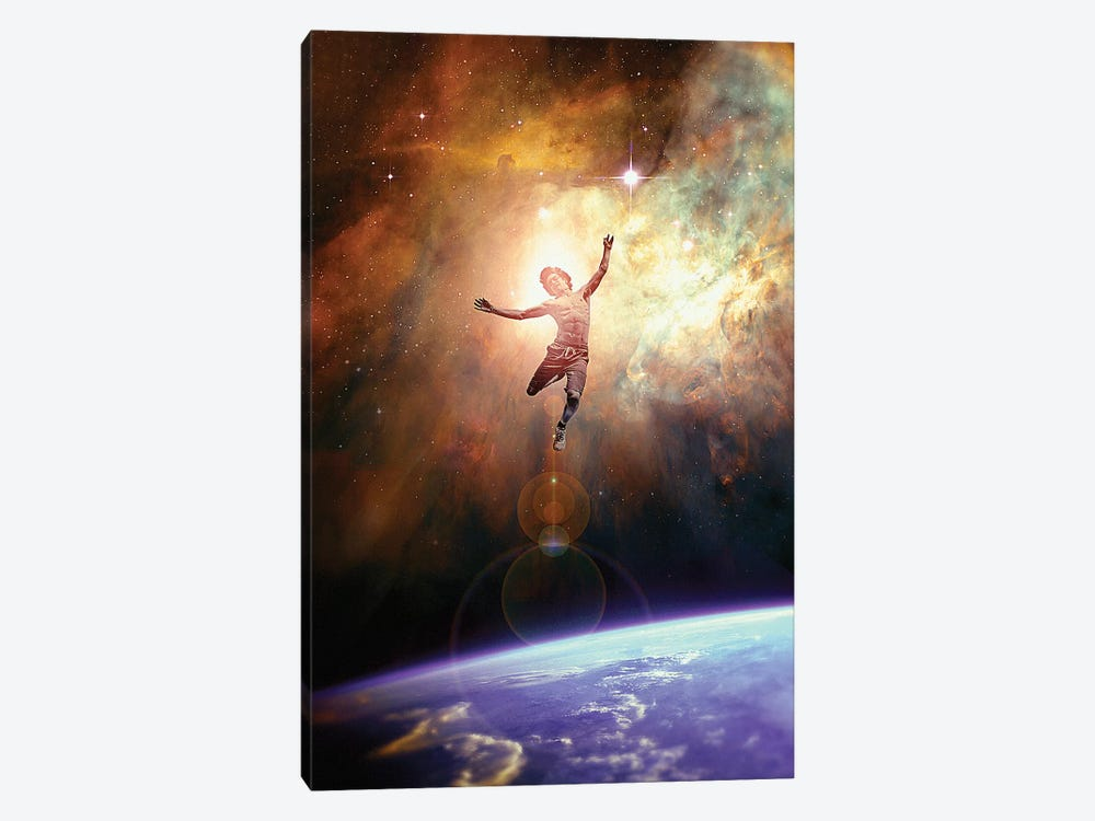 Leap by Nicebleed 1-piece Canvas Art