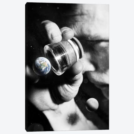 Earth Check Canvas Print #NID404} by Nicebleed Canvas Artwork