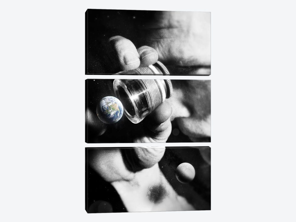 Earth Check by Nicebleed 3-piece Art Print