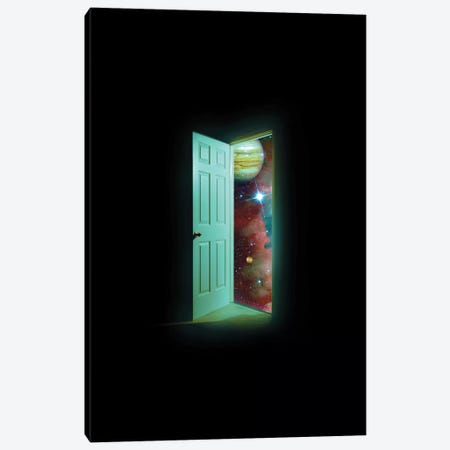 Door Canvas Print #NID406} by Nicebleed Canvas Wall Art