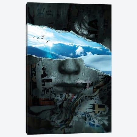 Look At The Bright Side II Canvas Print #NID408} by Nicebleed Art Print
