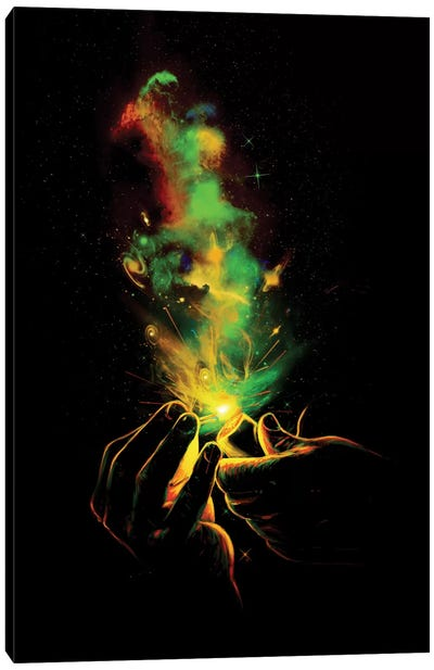 Light It Up! Canvas Art Print