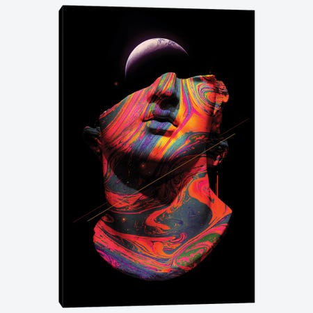 Fractured Memory I Canvas Print #NID416} by Nicebleed Canvas Print