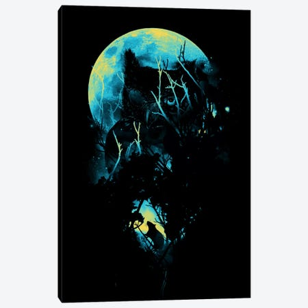 Lurking Canvas Print #NID41} by Nicebleed Canvas Artwork