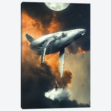 Dive High Canvas Print #NID431} by Nicebleed Canvas Wall Art