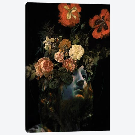 Fractured Memory IV Canvas Print #NID432} by Nicebleed Canvas Art