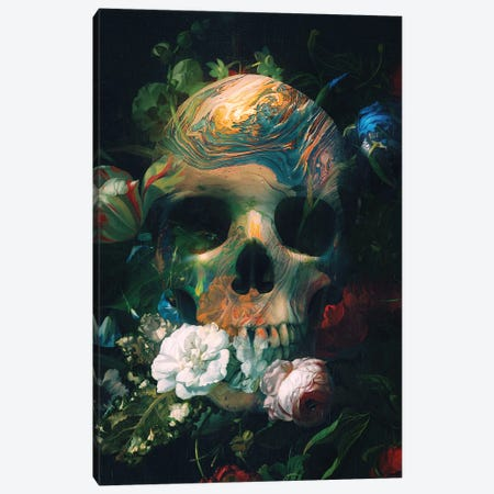 Death Place Canvas Print #NID445} by Nicebleed Canvas Artwork