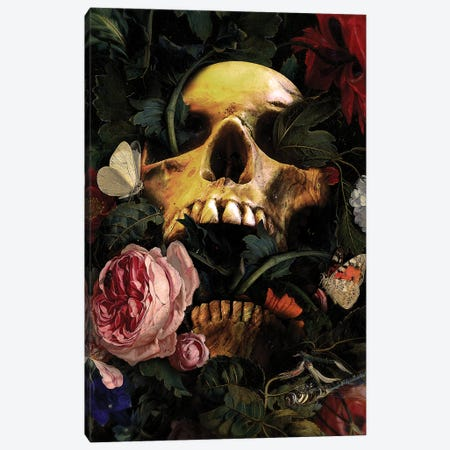 Life Finds A Way Canvas Print #NID447} by Nicebleed Canvas Wall Art