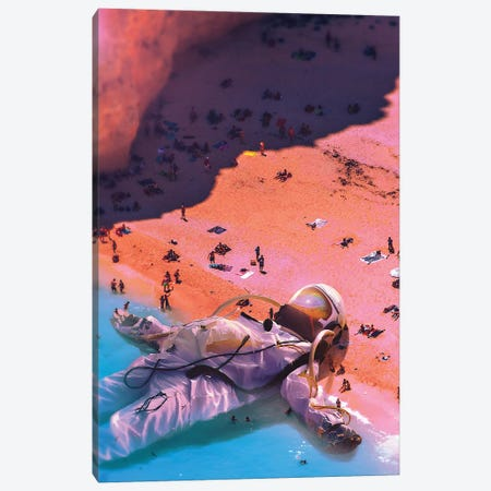 Ashore Canvas Print #NID448} by Nicebleed Canvas Print