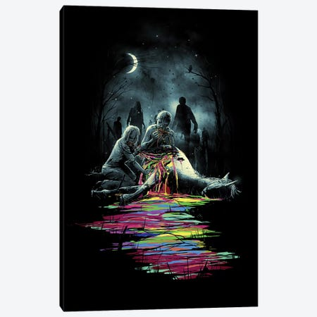 Midnight Snack Canvas Print #NID44} by Nicebleed Art Print