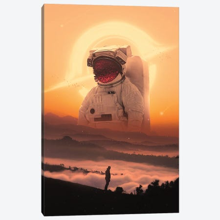 Ally Canvas Print #NID450} by Nicebleed Canvas Artwork