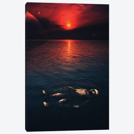 Midnight Chill Canvas Print #NID452} by Nicebleed Canvas Wall Art