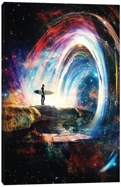 Space Barell Canvas Art Print