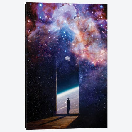 Stardusts Canvas Print #NID459} by Nicebleed Canvas Art