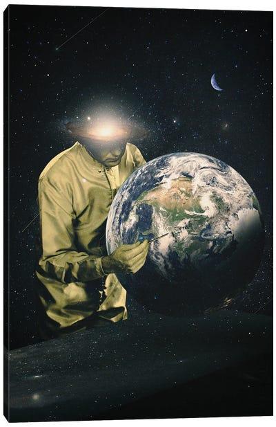 Earth Check II Canvas Art Print
