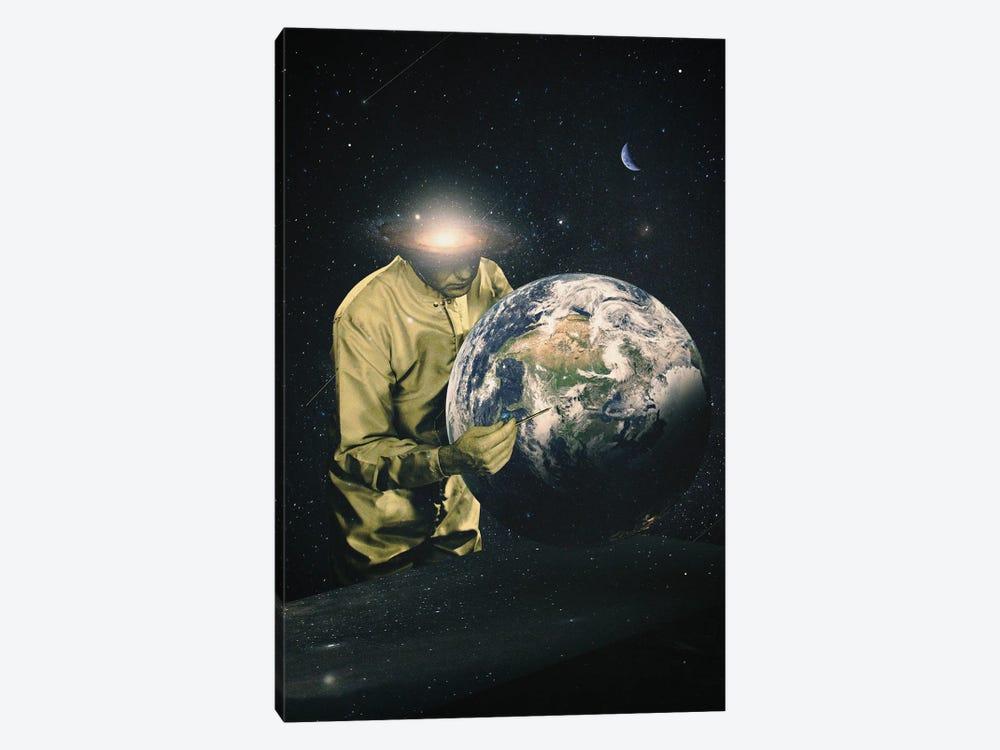 Earth Check II by Nicebleed 1-piece Canvas Print