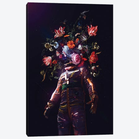 Full Bloom II Canvas Print #NID465} by Nicebleed Canvas Wall Art