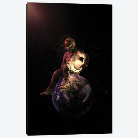 Guardian II Canvas Print #NID468} by Nicebleed Canvas Print