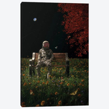 An Interlude Canvas Print #NID471} by Nicebleed Canvas Art