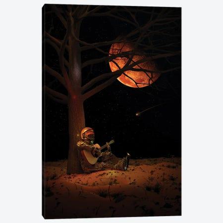 Moonlight Jam Canvas Print #NID472} by Nicebleed Canvas Wall Art
