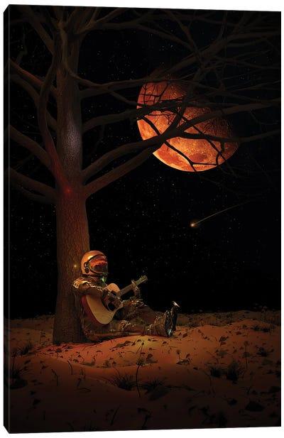 Moonlight Jam Canvas Art Print