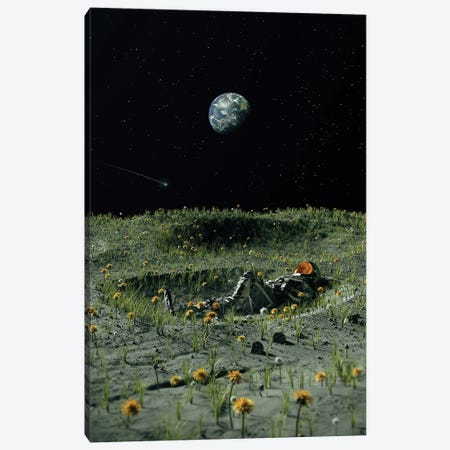 A New Home Canvas Print #NID474} by Nicebleed Canvas Print