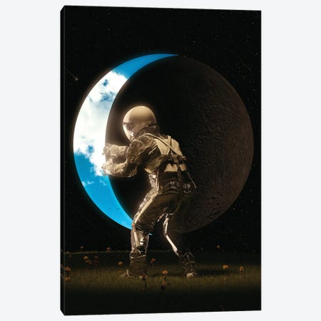 Space Out Canvas Print #NID476} by Nicebleed Canvas Print