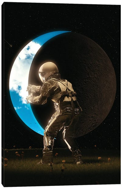 Space Out Canvas Art Print