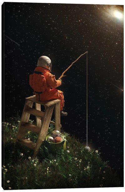 Star Fishing Canvas Art Print