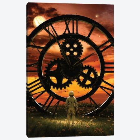 Time Canvas Print #NID480} by Nicebleed Art Print