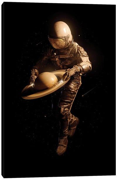 Saturntable II Canvas Art Print