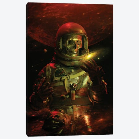 Dead Explorer Canvas Print #NID487} by Nicebleed Canvas Artwork