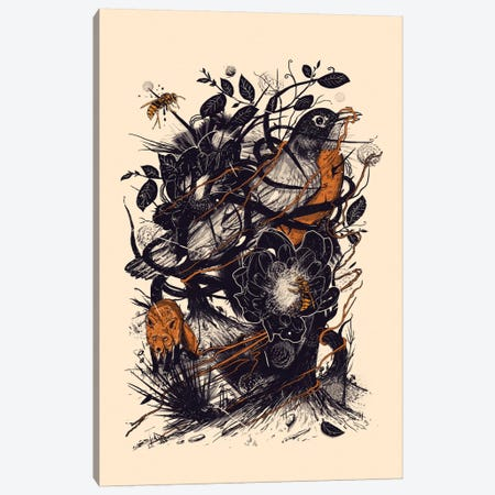 Natural Mystic Canvas Print #NID48} by Nicebleed Canvas Wall Art