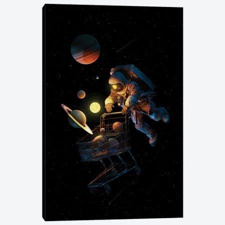 Space Cart Canvas Print #NID494} by Nicebleed Canvas Art Print