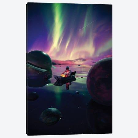 Star Collector Canvas Print #NID501} by Nicebleed Canvas Artwork
