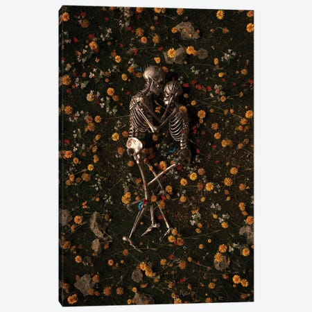 Memento Mori II Canvas Print #NID504} by Nicebleed Art Print
