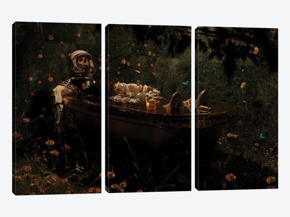 Overflow by Nicebleed 3-piece Canvas Wall Art