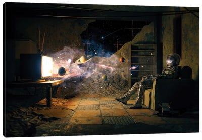 Cosmic Channel II Canvas Art Print