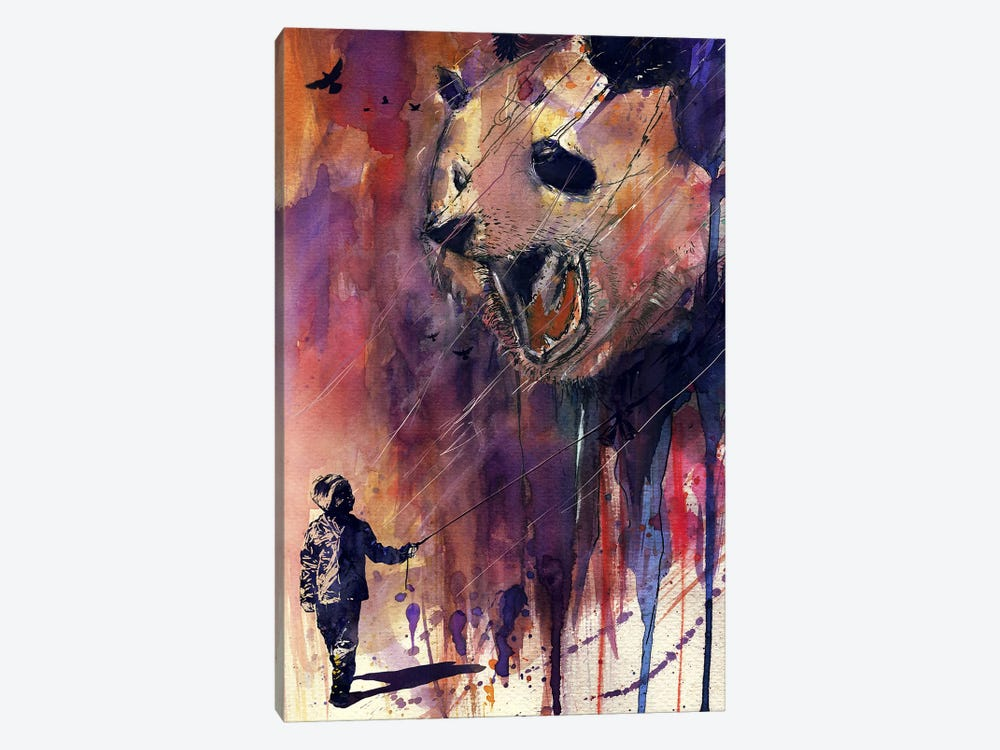 Out To Play by Nicebleed 1-piece Canvas Wall Art
